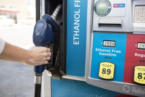Removing/replacing a nozzle from an ethanol free gas pump.